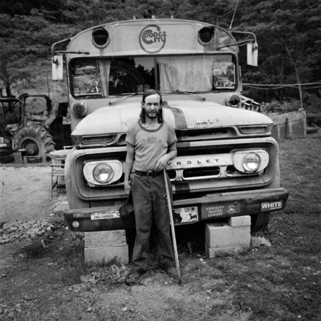 Billy Ray Baker in front of his home : The Appalachian Trail / Eastern Kentucky : Charlotte Oestervang Photography